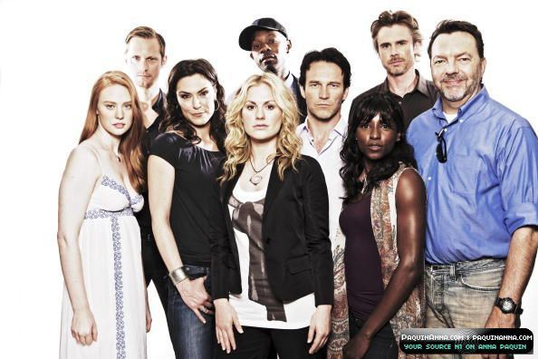 True Blood Cast graphic