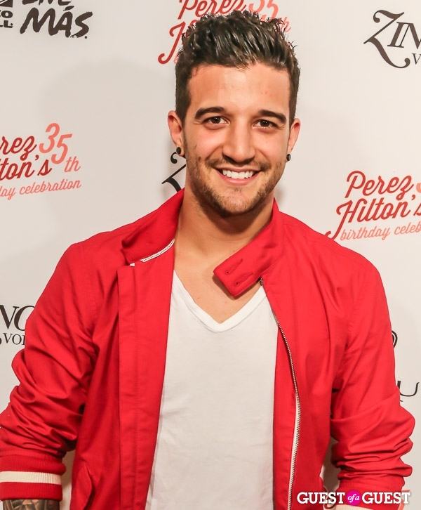 Mark Ballas graphic