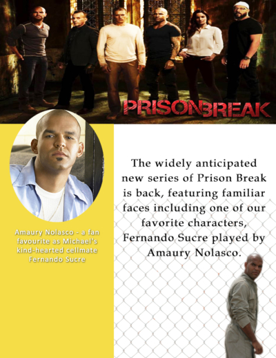 Amaury Prison Break