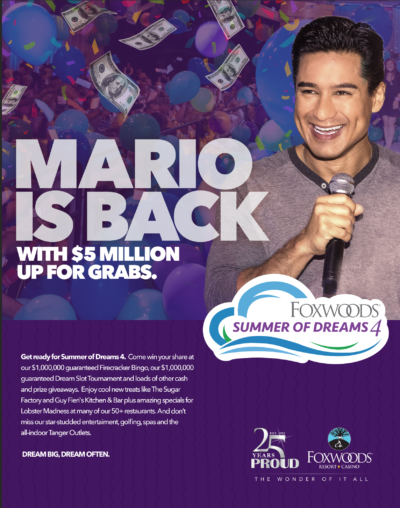 Mario Lopez Labor Day