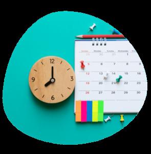 Calendar ahead